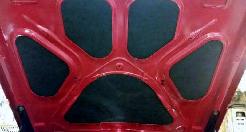 Sharkskin Premium Hood Insulation Kit Specialty