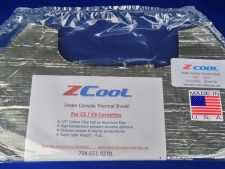 Z Cool C5 Under Console Heat Shield