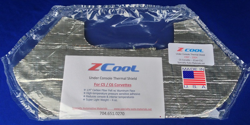 Z/ COOL Ultra Corvette Heat Shield | Specialty Automotive